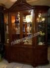 Buffet Hias Jati Mawar 4 Pintu