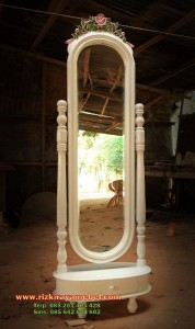 Cermin Goyang Mawar Duco