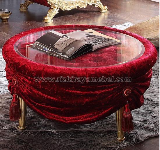 Meja Kursi Sofa Safir Luxury 3 rizki raya mebel
