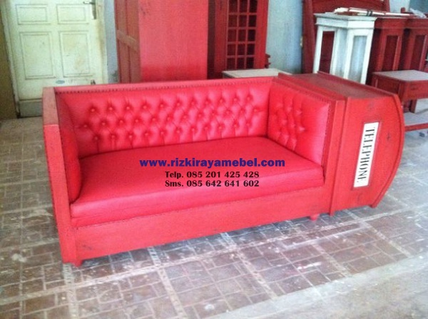 Sofa Telephone Box Rizki Raya Mebel