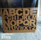 Desain Bufet Terbaru model Alfabet