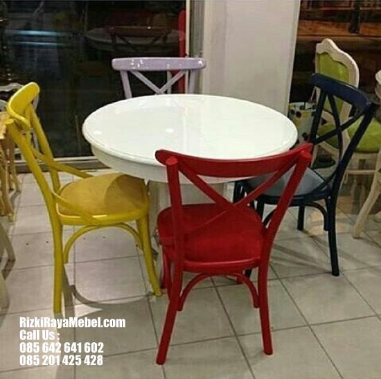 Kursi Cafe Coboy Colorfy
