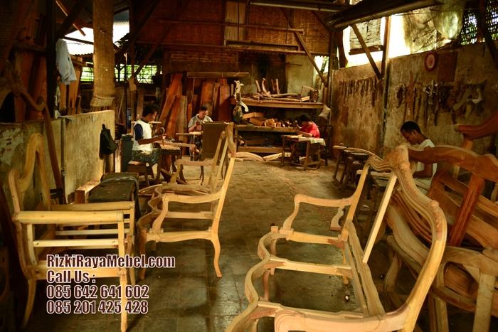 Jepara Carving Rizki Raya Mebel Jepara Jawa Tengah