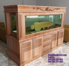 Model Aquarium Minimalis Jati Besar