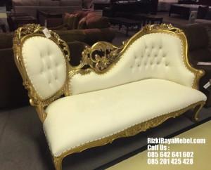 Sofa Single Ukiran Mewah