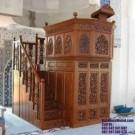 Desain Mimbar Masjid Kayu Jati