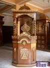 Mimbar Masjid Ukiran Jepara