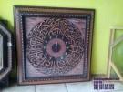 Jam Kaligrafi Ukir Jepara