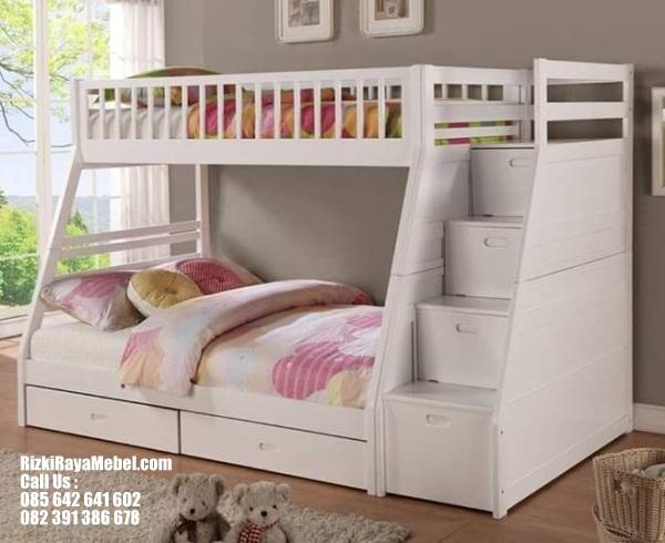 Tempat Tidur Tingkat Drawer Duco