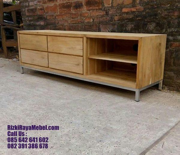 Cabinet Vintage Minimalis Simpel Modern 2 Rizki Raya Mebel toko online furniture Jepara berkualitas Call : 085642641602