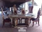 Meja Makan Sofa Mewah Jepara