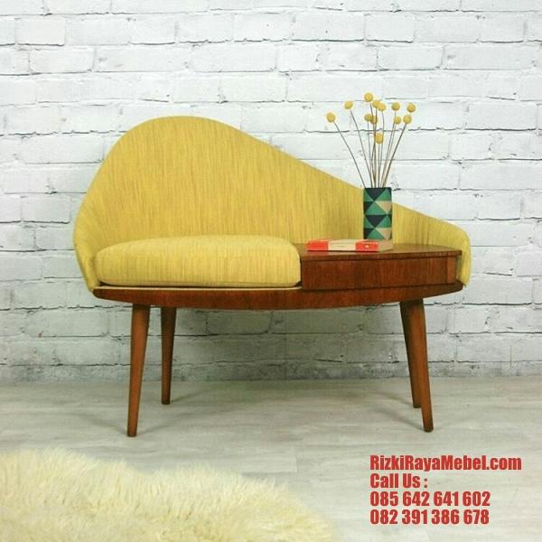 Desain Sofa Telepon Unik Modern Rizki Raya Mebel toko online furniture Jepara berkualitas Call : 085642641602