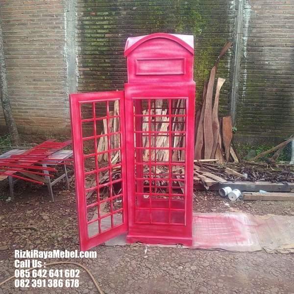 Rak Buku dan Pajangan Model Telephone 3 Rizki Raya Mebel toko online furniture Jepara berkualitas Call : 085642641602
