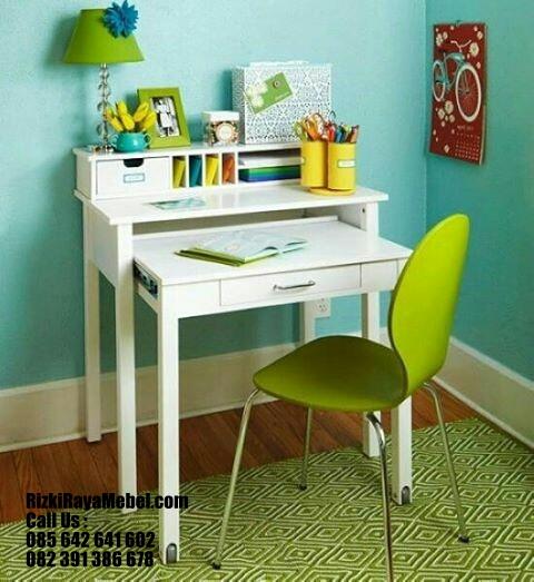 Furniture Meja Belajar Desain Modern RRM 405
