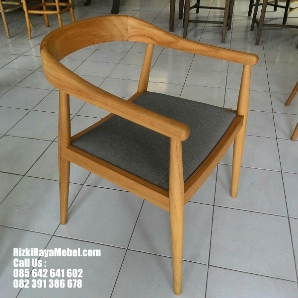 Kursi Jati Minimalis Modern Cafe And Resto RRM 439