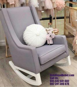 Kursi Santai Goyang Sofa Modern