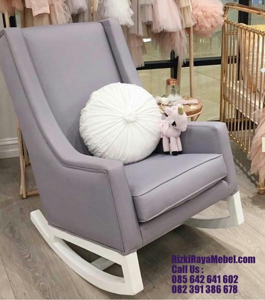 Kursi Santai Goyang Sofa Modern RRM 410