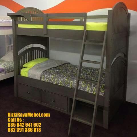 Model Tempat Tidur Tingkat Anak Bagus RRM 425