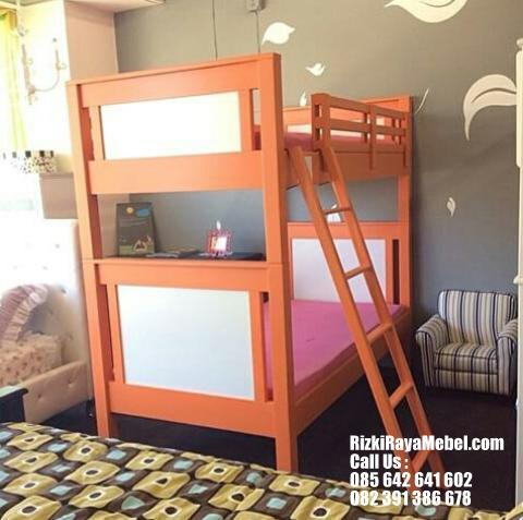 Ranjang Susun Anak Warna Cerah RRM 426