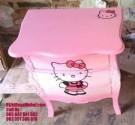 Nakas Ukir Pink Hello Kitty