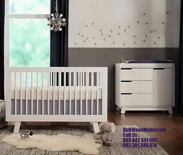 Model Furniture Tempat Tidur Bayi Rizki Raya Mebel toko furniture online Jepara berkualitas Call : 085642641602