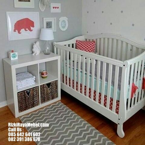Ranjang dan Baby Tafel Pakaian Bayi Rizki Raya Mebel toko furniture online Jepara berkualitas Call : 085642641602