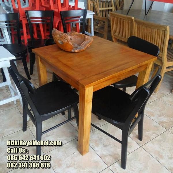 Kursi Restoran Minimalis Kayu Jati RRM-471