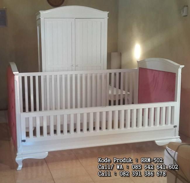 Desain Tempat Tidur Kamar Bayi RRM-502