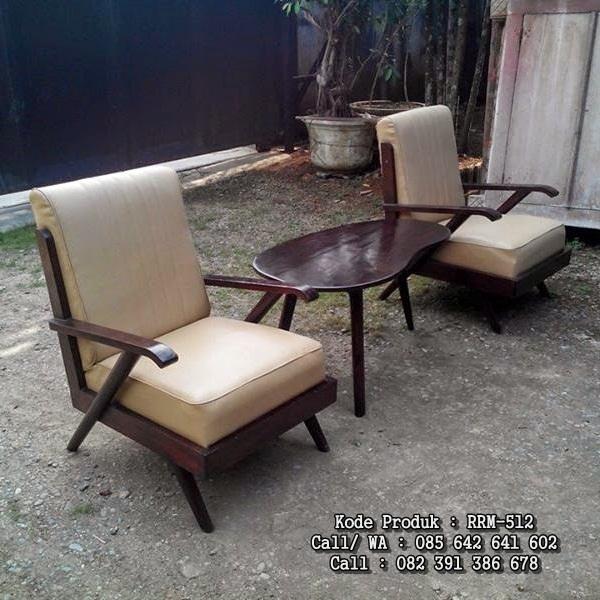 Kursi Teras Sofa Antik Jati RRM-512