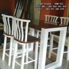 Set Meja Kursi Bar Model Tinggi Duco