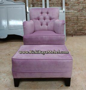 Sofa Santai Goyang Minimalis Jepara