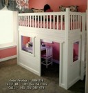 Set Tempat Tidur Anak Tingkat Lengkap