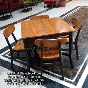 Jual Model Kursi Cafe Terbaru Kayu Jati