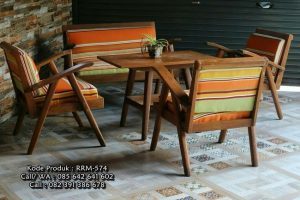 Set Kursi Tamu Antique Modern Style