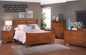 Desain Bedroom Set Minimalis Jati Classic