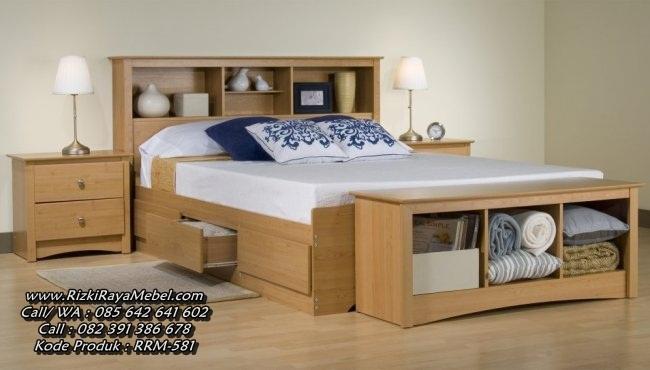 Desain Tempat Tidur Minimalis Jati Jepara