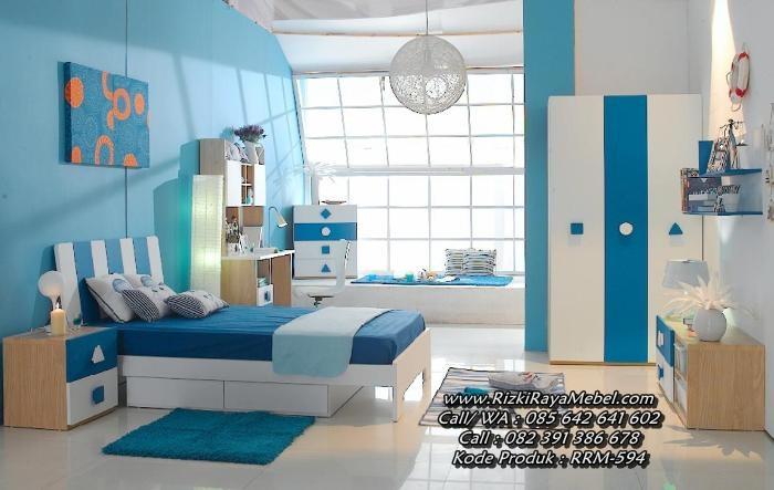 Set Kamar Tempat Tidur Anak Minimalis