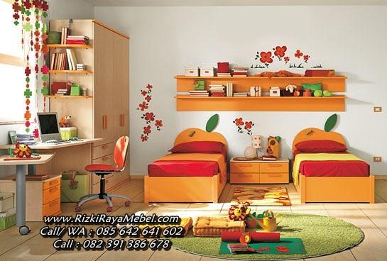 Set Kamar Anak Perempuan Model Apel