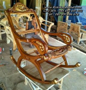 Kursi Goyang Kayu Jati Sofa Ukir